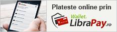 Plati online prin Wallet LibraPay
