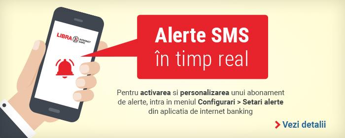 Internet Banking: alerte SMS