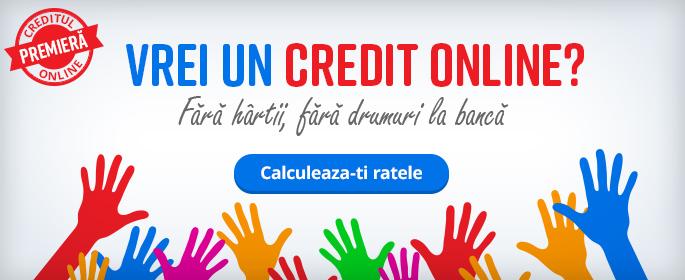Internet Banking: credit online