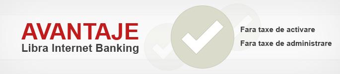 Avantaje Libra Internet Banking